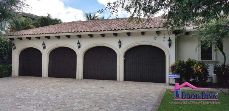 Boca Raton Wood Grain Doors